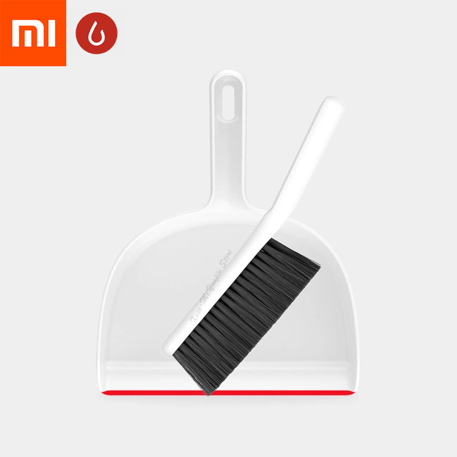 Xiaomi Mijia YJ Mini Mop Dustpan Set High-density Soft Broom Brush Close to surface Clean Fine Dust For Home and office Cleaning