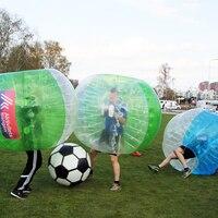 1 шт. 120 см Зорб мяч ПВХ человек хомяк носимые игрушки бампер мяч дети Надувной прыжок сумо костюмы Открытый забавная игра Бадди