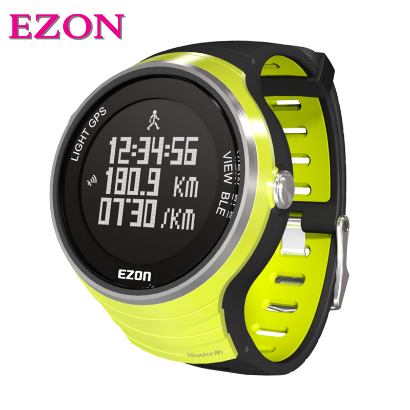 New arrival original EZON G1A01 GPS Bluetooth Smart Intelligent Sports Watch for IOS7.0 Android4.3 Phone promotion !!!  цены