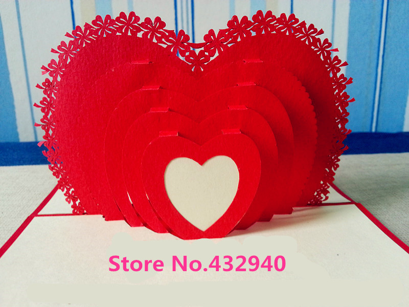 Free shipwholesale handmade paper carving 3d diy 3 d card birthday free shipwholesale handmade paper carving 3d diy 3 d card birthday card greeting card valentines cards loving heart fashion on aliexpress alibaba m4hsunfo