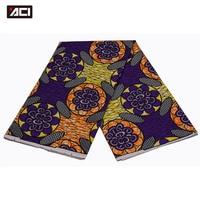 ACI 2018 New African Ankara Fabric 6 Yards Wholesale African Hollandais Real Dutch Wax Ever Pretty