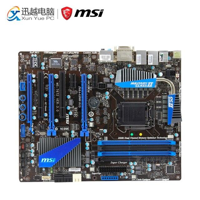 MSI Z68A-GD80 (G3) Renesas USB 3.0 Windows 8 X64