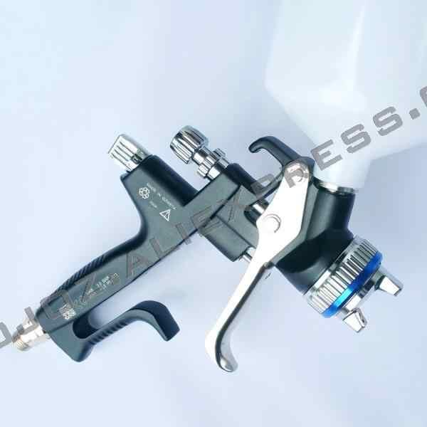 Ограниченная серия Porsche дизайн черный B RP распылитель-1,3 сопло w/t чашка для кузова автомобиля, окрашенный распылитель высокая эффективность