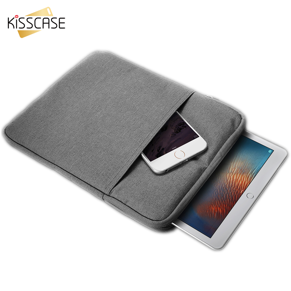 KISSCASE Pouch Bag Case For Apple iPad Mini 1 2 3 4 Cover Casual Shockproof Case