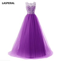 LASPERAL 2017 New Ball Grown Maxi Dresses Women Sleeveless Three Layer Lace Long Dress Chic Style Wedding Party Vestidos 2017