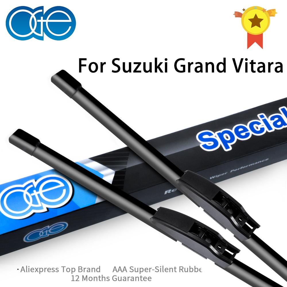 Oge предни и задни четки за чистачки за Suzuki Grand Vitara 2005-2014, гумени аксесоари за автомобилно стъкло