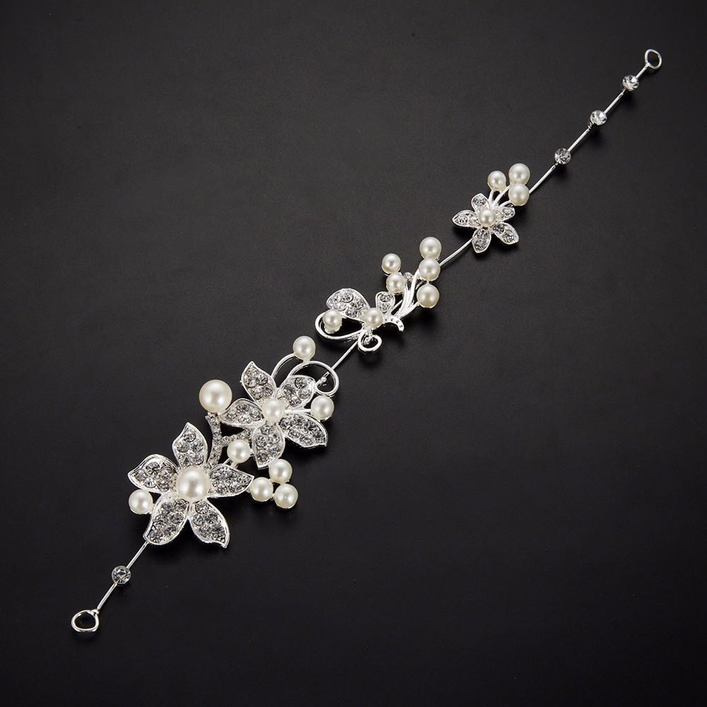 HTB140hmOpXXXXXAaXXXq6xXFXXXM Luxury Silver Rhinestone Pearl Jewel Flower Hair Accessory For Women