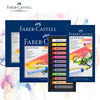 Faber Castell Pastel Stick 12/24/36/48/72 Colors Dyed Chalk Wax Colors Blue Box Oil Pastel Crayon Soft Pastel Blando For Art