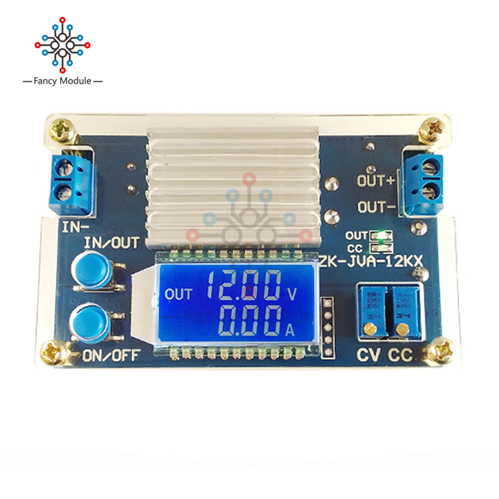 DC 0-32V 12A Constant Voltage Current LCD digital Voltage Current Display Adjustable Buck Step Down Power Supply Module Board 1pc 5a dc dc step down module adjustable step down voltage buck module power supply 6v 32v to 0 32v lcd display converter
