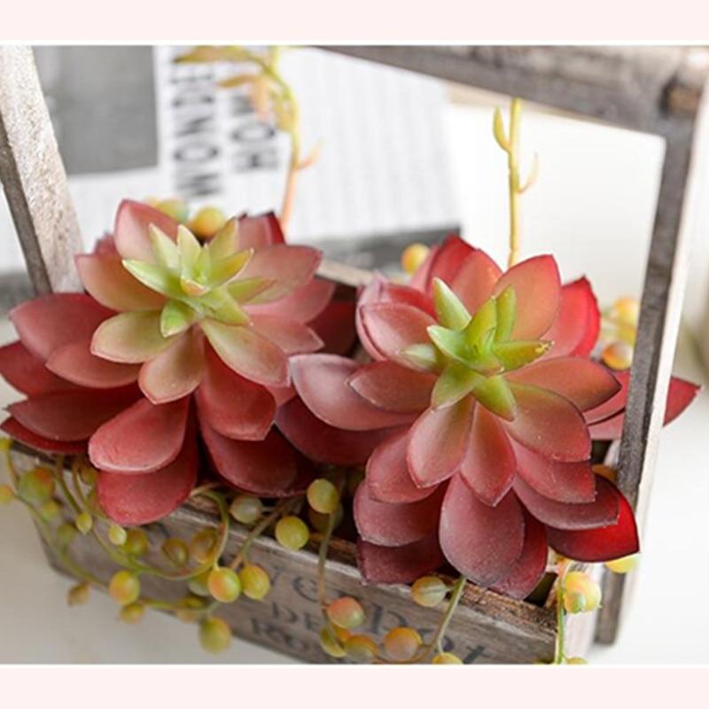 Humoristisch Eeuw Woestijn Plant Agave Kunstmatige Vetplant Plastic Bloem Tafel Decoratie Groene Plant Muur Achtergrond Gratis Verzending
