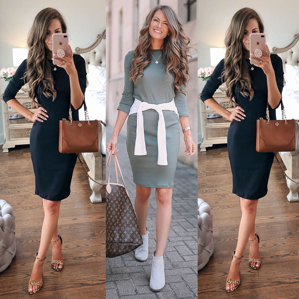 Womens Bandage Bodycon Long Sleeve Evening Party Club Short Mini Dress Knitted Autumn Dresses