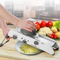 Multifunctional Kitchen Manual Vegetable Slicer Fruit Cutter Adjustable Stainless Steel Mandoline Slicer Grater Cooking Tool