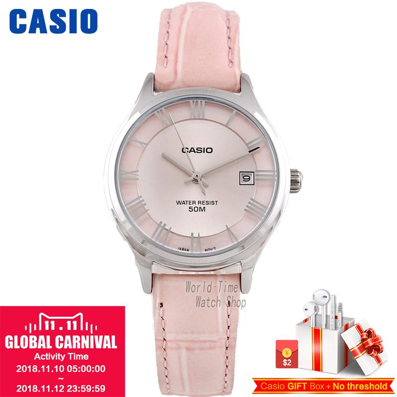 CASIO watch fashion business women watch LTP-E142L-4A LTP-E142D-1A LTP-E145L-1A LTP-E145D-1A casio ltp 2084l 2b