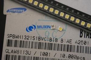 Image 5 - Per SAMSUNG LED di Retroilluminazione DELLO SCHERMO LCD TV Applicazione Retroilluminazione A LED TT321A 1.5W 3V 3228 2828 1000PCS bianco Freddo LED TV LCD Retroilluminazione