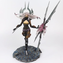 High Quality LOL League Game Irelia Toy Anime Action Figure Pvc Kids Toy Decoration Color White Japanese ACG