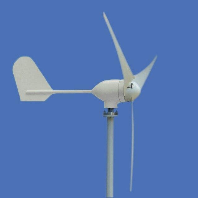 Kleine Windmühle 400 watt 12 v 24 v Permanentmagnet-generator Sauber und Erneuerbare Energie