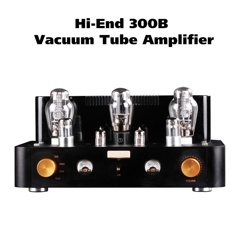 2017 New Douk Audio 300B Vacuum Tube Amplifier Class A Single-Ended Stereo Integrated Amp Handcraft music hall pure handmade hi fi psvane 300b tube amplifier audio stereo dual channel single ended amp 8w 2 finished product