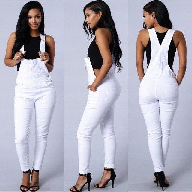 edd77bad827 H Jeans Woman Stretch Denim Overalls Women Jumpsuit Jeans 2019 Denim  Suspenders Pants Woman