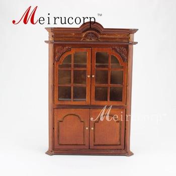 Fine 1:12 scale dollhouse miniature furniture Exquisite handmade cabinet 1 12 scale fine dollhouse miniature furniture white cabinet
