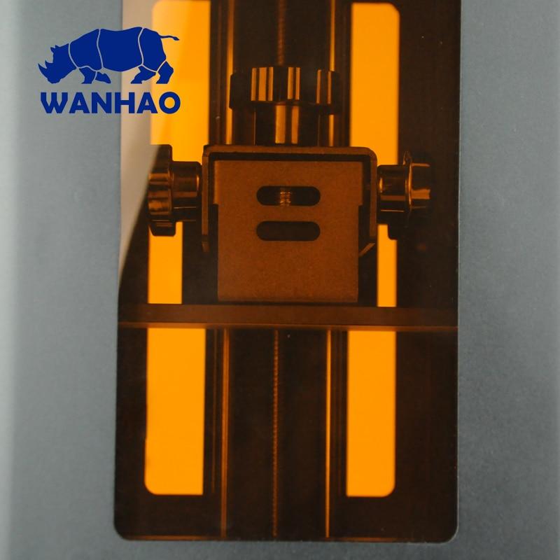 2018 newest WANHAO D7 V1.5 Resin 3D Printer, Cheap Personal desktop dlp LCD printer machine , Jewelry Dental 3D Printer