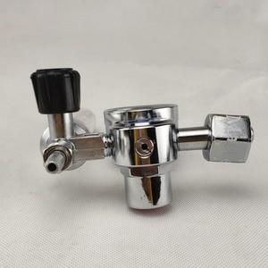 Image 5 - Argon regulador 0 25 mpa argon co2 g5 hélio nitrogênio g5/8 inalação gás de soldagem regulador de fluxo de pressão
