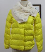 Клиренс Мода Пальто Осень-Зима Куртка С Шарфом Плюс Размер Женщин Свободные Верхняя Одежда Зимние Пальто Куртки Женщин