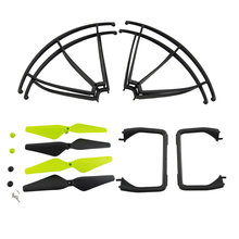 4Pcs Propeller + Protective Cover + Landing Gear for UDI U42W U42WH U45 U45W RC Four-Axis Drone Blade Tripod Protection Ring