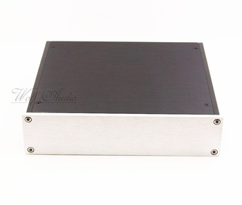 DIY D-2205  Amplifier Enclosure Full Aluminum HiFi Amplifier Chassis DAC Box Premplifier Case BZ2205A