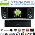 """Android 6.0.1 Quad Core GPS Navi Stereo 6.1"""" Car DVD Player for Fiat Linea/Punto 2007-12 with Radio/Bluetooth/RDS/CANBUS/WIFI/4G"""