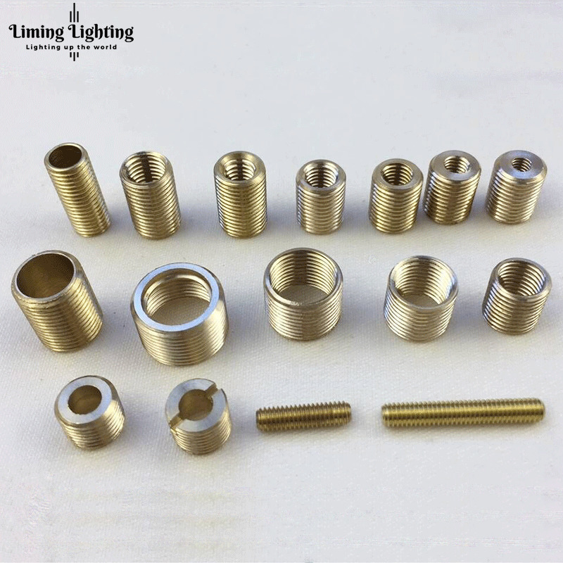 M6 To M10, M8 To M10, M10 To M14 Threaded Hollow Tube Adapter Inner Outer Threaded Coupler Conveyer Adapter