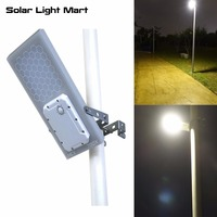 2017 New Design HEX 780X All In One Solar Powered LED Outdoor Street Light Pole Light