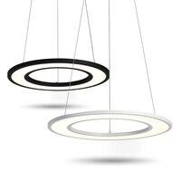 Круглый светодиодный подвесные светильники использование в рукоделии офисного освещения трапезной подвесной светильник современное Дома