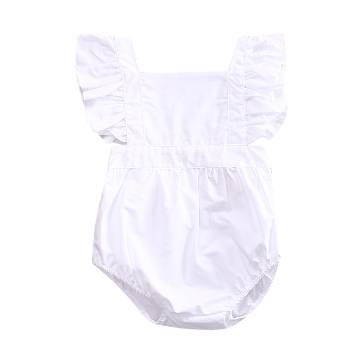 Cute Newborn Baby Girl Floral Rompers Jumpsuit Outfits Sunsuit kids girls clothes