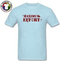 Marvel Deadpool Maximum Effort Mens T Shirts Avengers Infinite War Hero Superman Tshirts Men Gift Tees April FOOL DAY