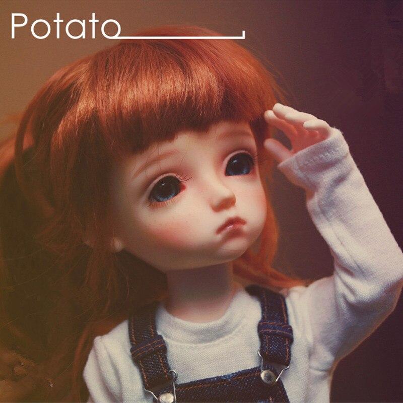 Oyuncaklar ve Hobi Ürünleri'ten Bebekler'de 1/6 BJD bebek patates'da  Grup 1