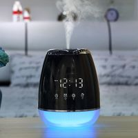 USB Aroma Diffuser Essential Oil Ultrasonic Steam Humidifier Cold Air Purifier 7 Change Color LED Night light for Home Office