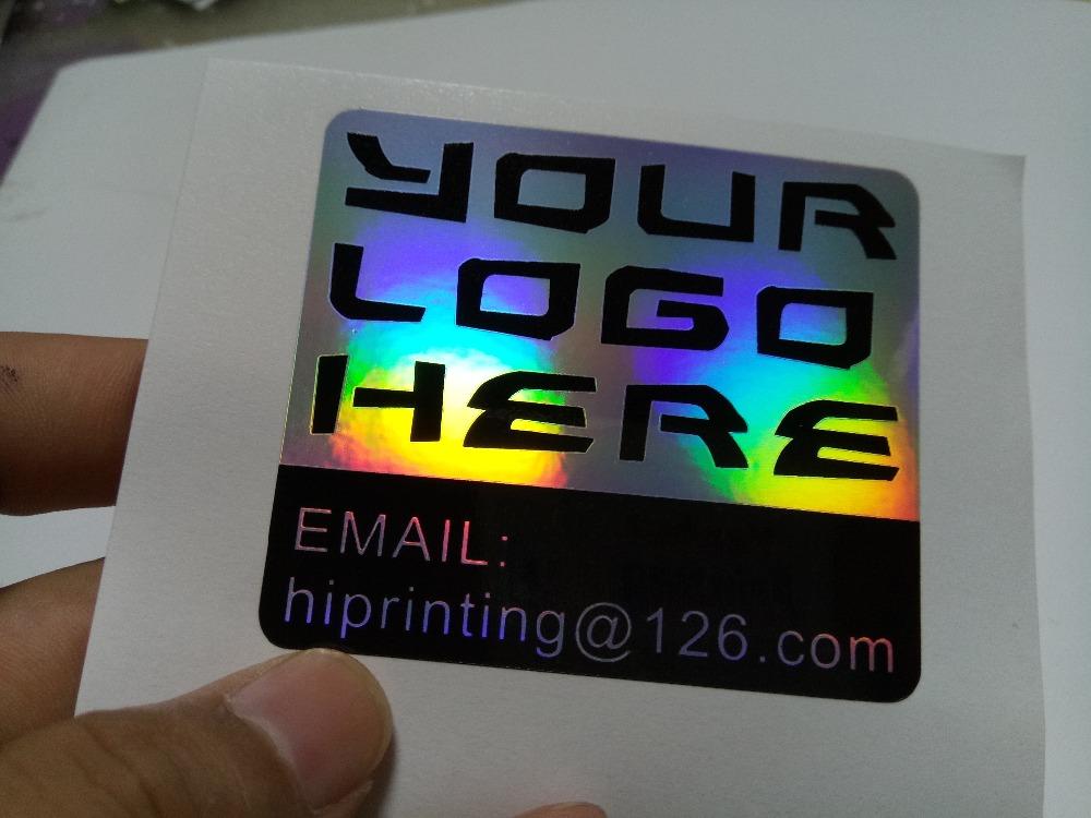 adhesive sticker laser label printing sticker custom