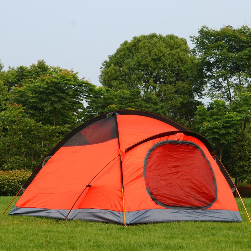 Outdoor 1 2 Person Camping Tent Double 3000mm waterproof 3 ...
