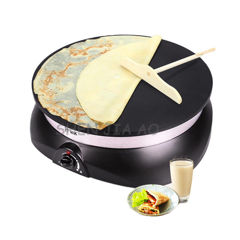 где купить Multi-purpose electric pancake pot household non-stick single - side electric baking pan  machine 220V 1100W 1PC по лучшей цене