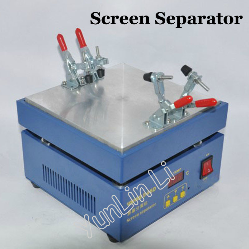 Touch Screen LCD Separator Screen Separator Machine Support Max 5.5inch Screen With Cutting Wire 946D
