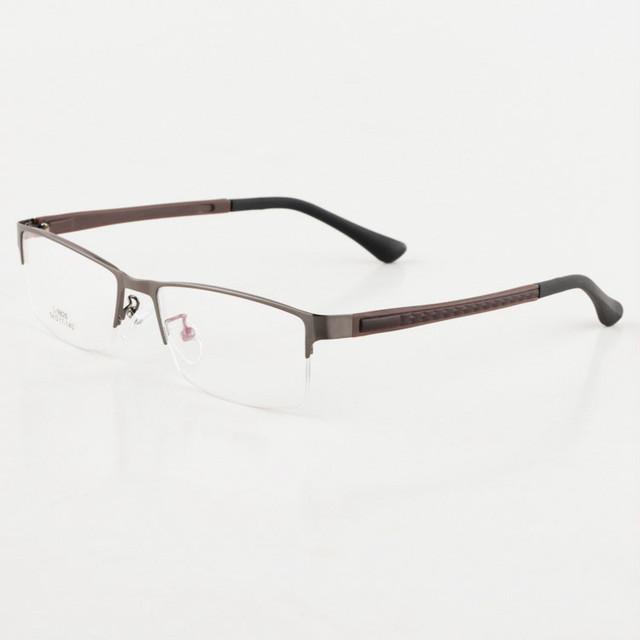 Nova Chegada homens Da Moda Armações De Óculos Homens Marca liga de metal armações de Óculos de Prescrição de vidro quadros TG9826