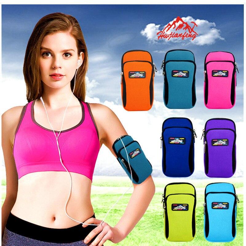 2017 NEW Hot Sale <font><b>Running</b></font> Sport Jogging Gym Arm Band Cover Case <font><b>Holder</b></font> Bag For <font><b>phones</b></font>