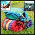 1 ensemble livraison gratuite Portable 150 kg charge-portant extérieur jardin hamac accrocher lit voyage Camping Swing survie en plein air dormir