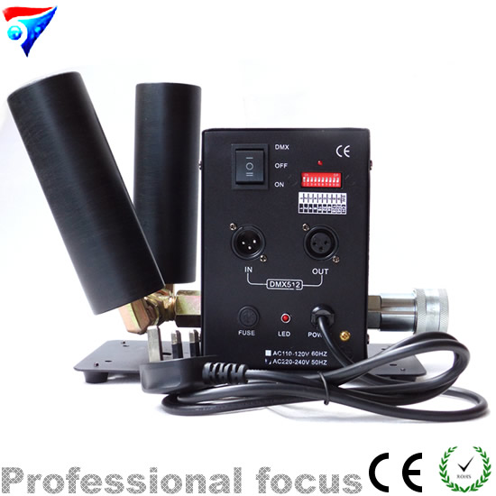 High quality Double Pipe CO2 Machine Stage Light Fog Effect Two Tube Power Large Sized Disco