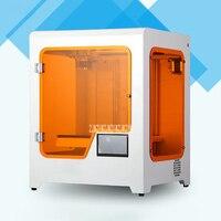 H2 настольный 3D принтер большой размер трехмерный usb-порт для принтера Высокая точность бытовой 3D принтер стеклянная платформа 350W
