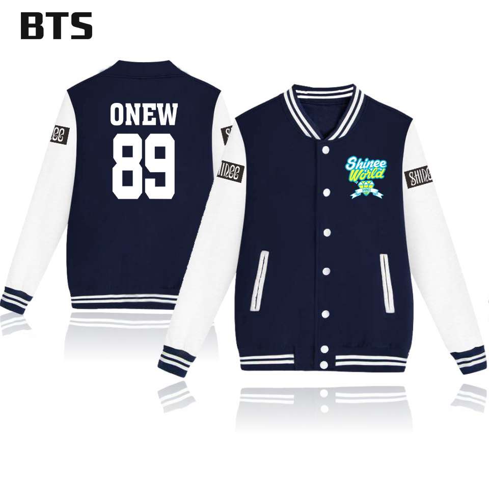 BTS Shinee Jonghyun Korean Kpop Winter Jacket Women Plus Size Fashion Ladies Female Harajuku Casual Streetwear Jacket Women 4xl 3