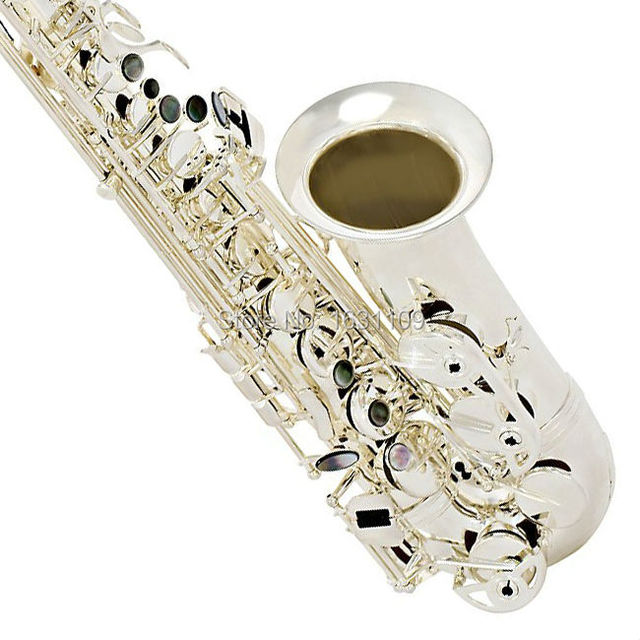 Cheap Free shipping Genuine France Selmer Baritonsaxophon Alto Saxophone Silvering SAS280 Professional E Mouthpiece Sax saxofone #13