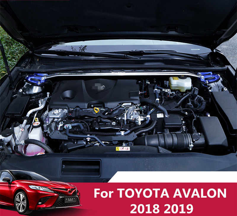 For TOYOTA AVALON 2018 2019 car balance bar car front top bar support bar multi-function car tool engine stabilizer bar