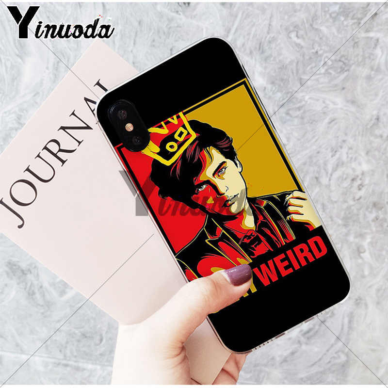 Yinuoda American tv riverdale Jughead Jones Soft TPU Phone Case for Apple iPhone 8 7 6 6S Plus X XS MAX 5 5S SE XR Cover