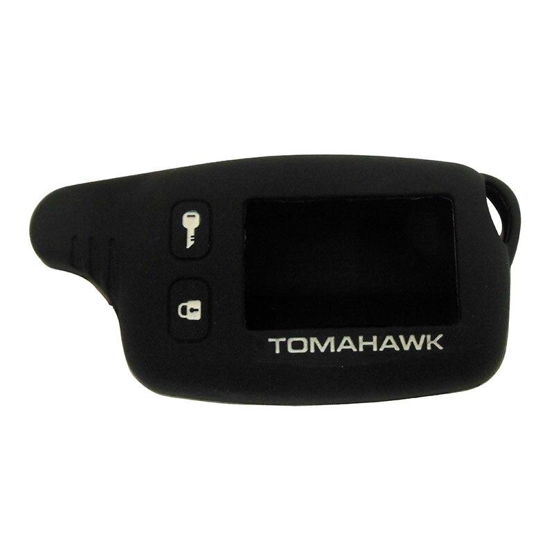 Силиконовый чехол для Tomahawk TW9010 TW9020 TW9030 TW4000, ЖК-дисплей, двухсторонний автомобильный пульт дистанционного управления, русская версия